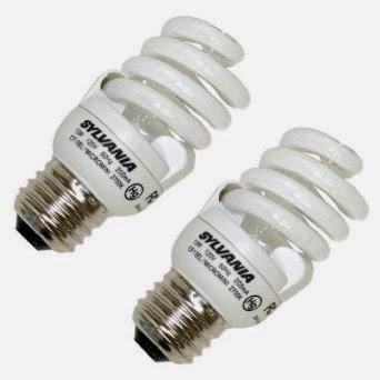 Sylvania Compact Fluorescent Bulbs