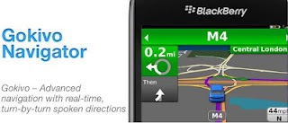 Aplikasi GPS Blackberry
