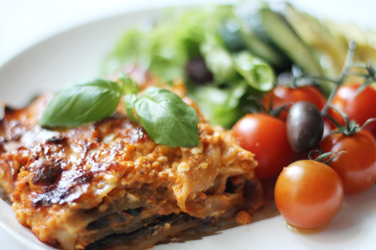 vegetarisk lasagne keso linser