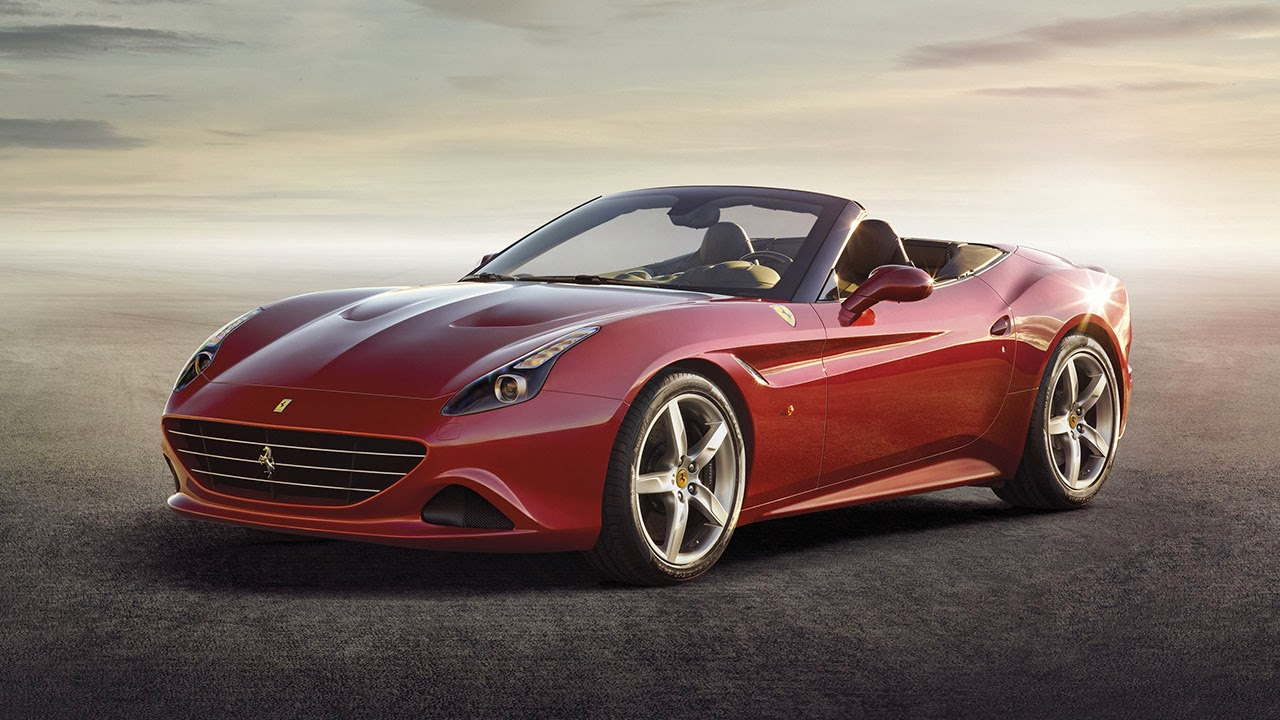 Ferrari California T red