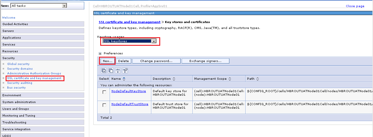Akhileshs Blog Configure Self Signed Ssl Certificate With Wbsphere