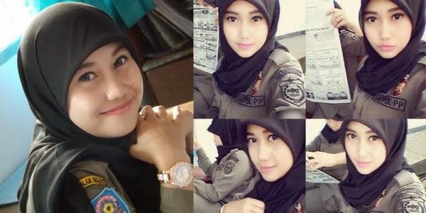 Nurul Habibah Satpol PP Tercantik