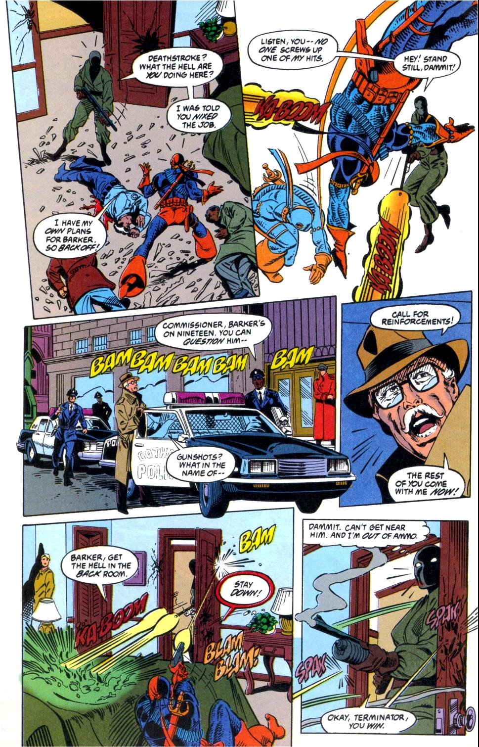Deathstroke (1991) Issue #6 #11 - English 20