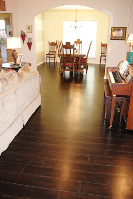 I Should Be Mopping The Floor Our New Vinyl Wood Floors