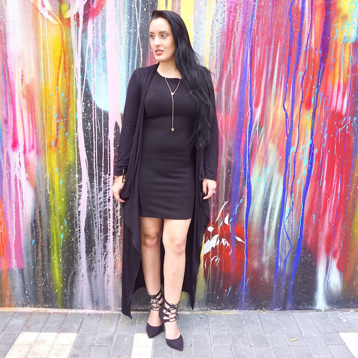 Black-On-Black-#‎OOTD-PinkOrchidMakeup-Vivi-Brizuela