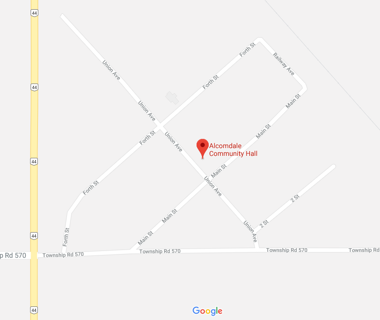 Map of Alcomdale
