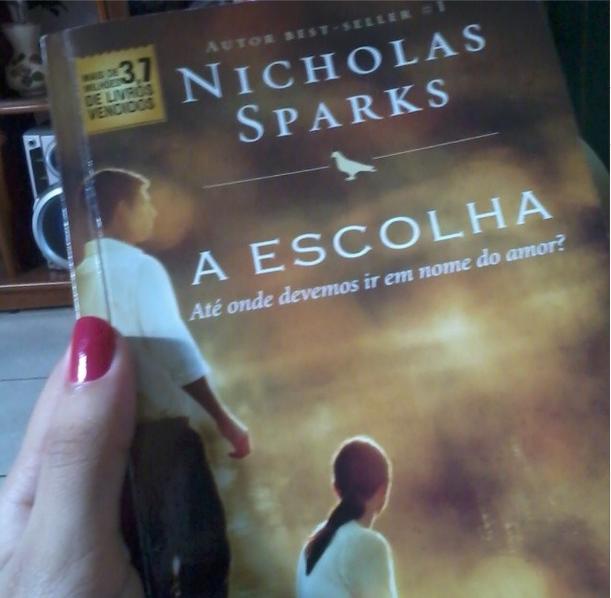 Livro, Nicholas Sparks, A Escolha,