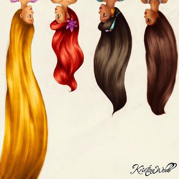 20-Disney-Hair-Kristina-Webb-Colour-me-Creative-Drawings-www-designstack-co
