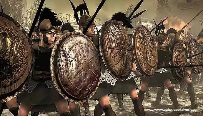 Η ασπίδα των Αρχαίων Ελλήνων
