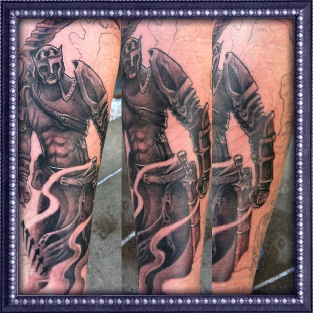 Tattoos art by david ekstrom dantes inferno sleeve for Dante s inferno tattoo