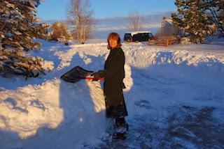 snow, Denver, shoveling, Wesco Fabrics