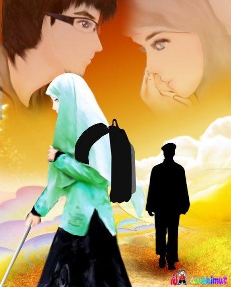 Hukum Pacaran Menurut Pandangan Islam Foto Kartun