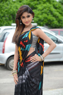 Sony Charista in Saree Top Rankers press meet