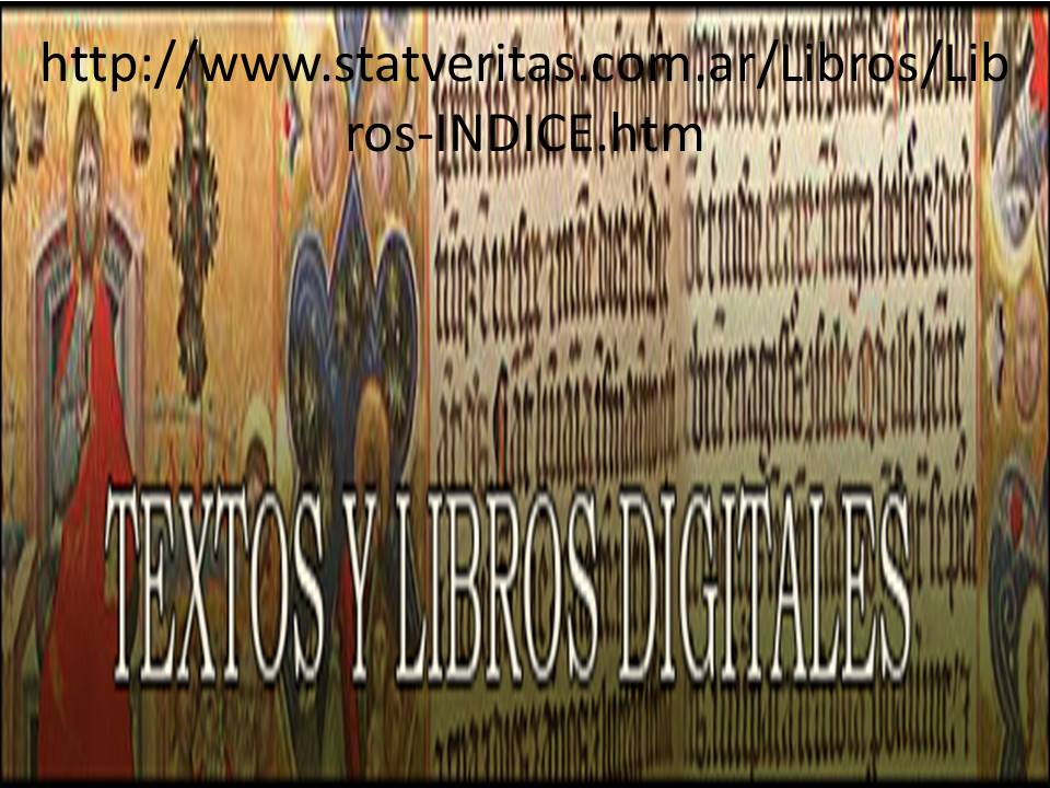 LIBROS DIGITALES CATÓLICOS