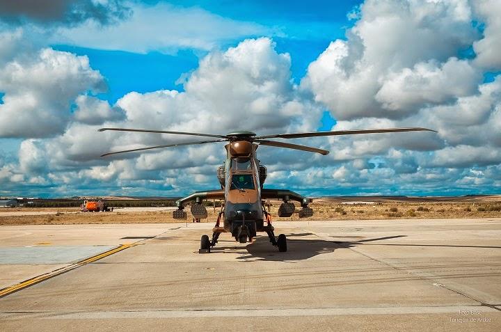 Helicoptero Tigre en Aire 75