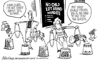 No Child left behind comic