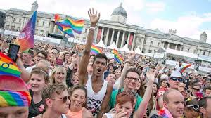 LONDON GAY PRIDE 2016  .. a week ago.