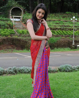 Kajal Agarwal  Pictures In Saree 11.jpg