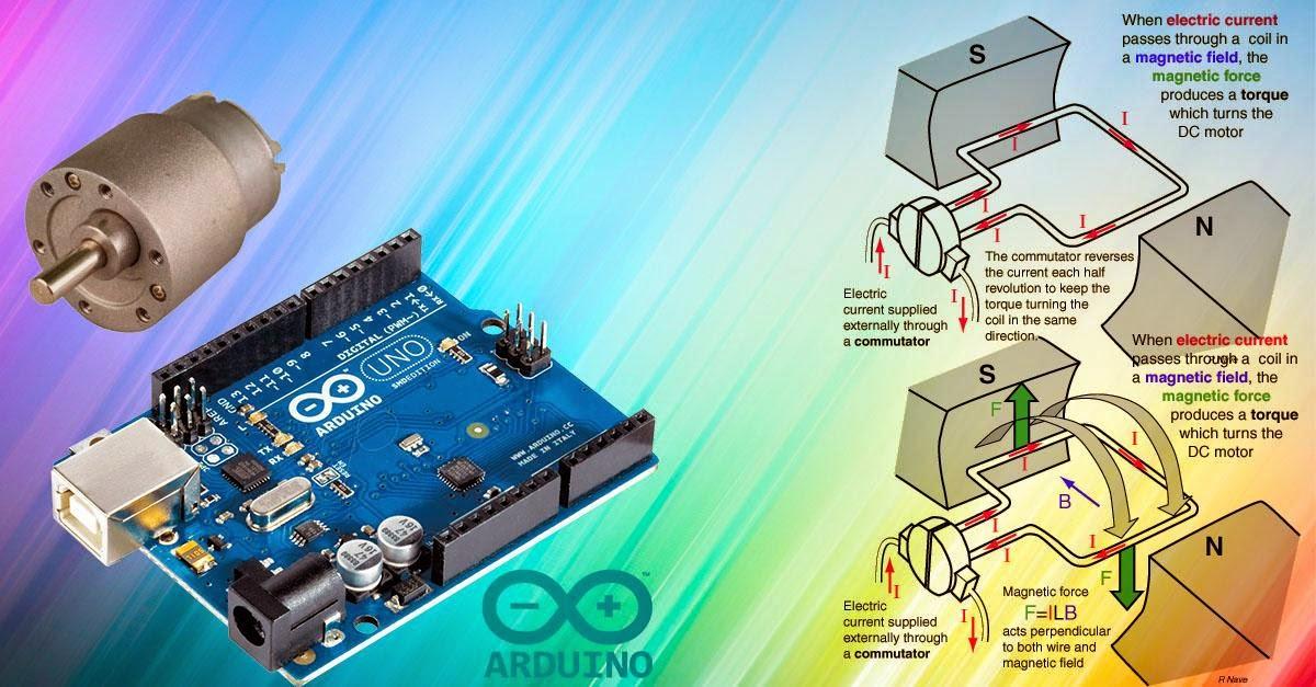 Boarduino mengontrol motor dc dengan android dan arduino