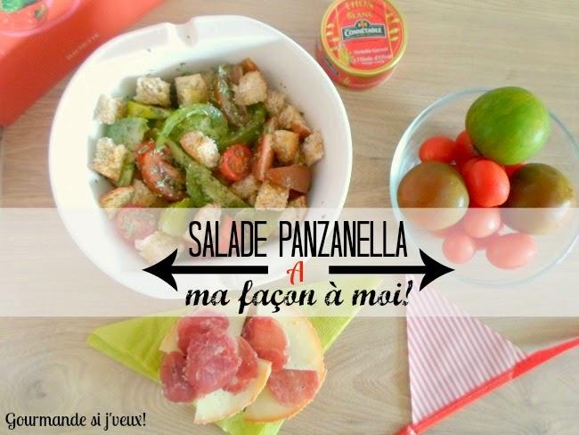 Panzanella-recette