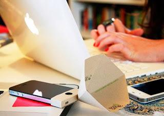 Loa iphone bằng giấy