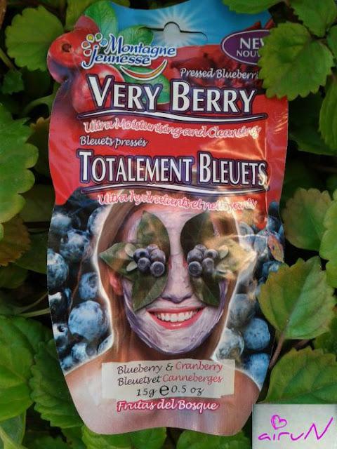 mascarilla very berry montagne jeunesse