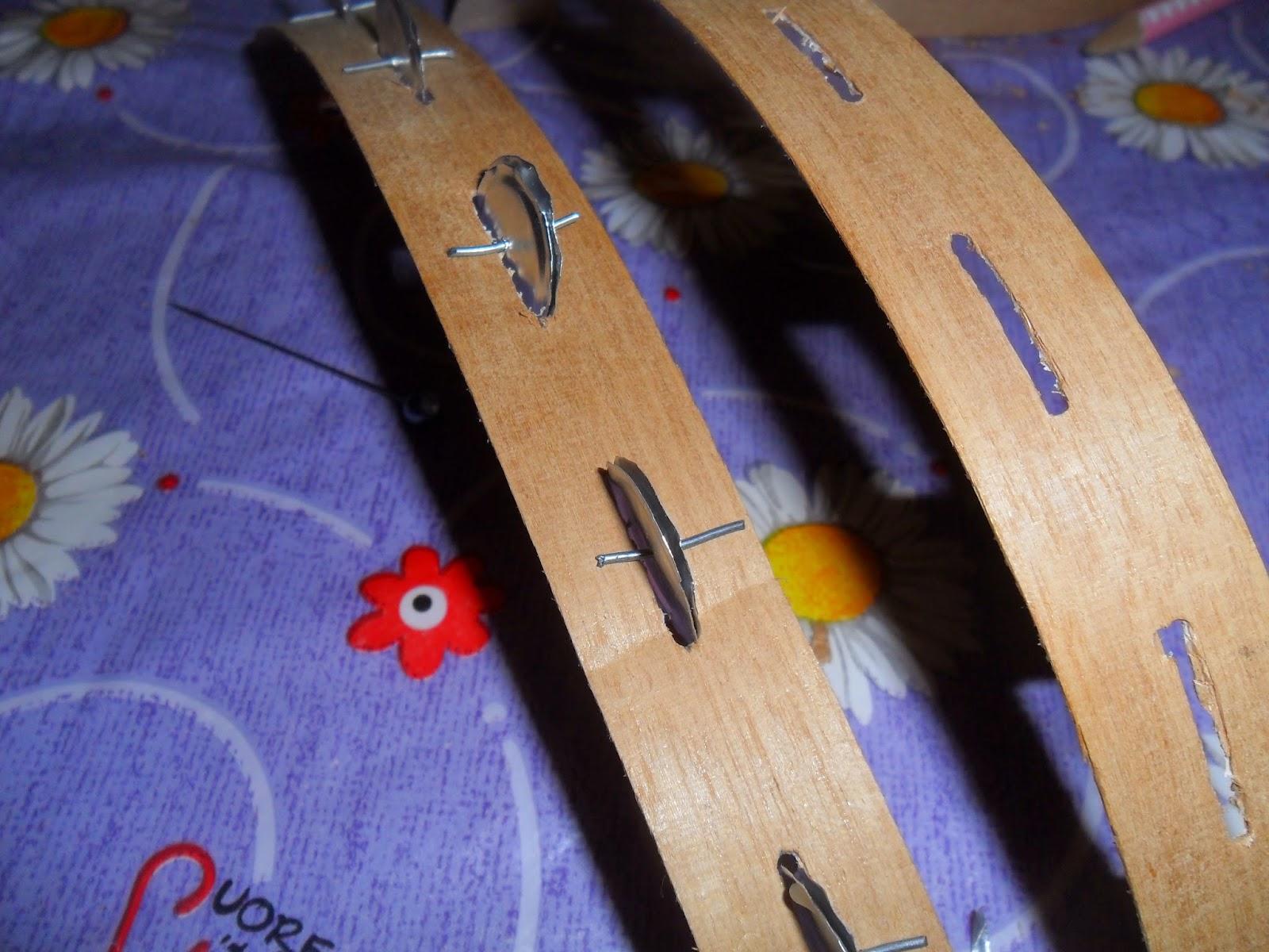 Handmade tambourine