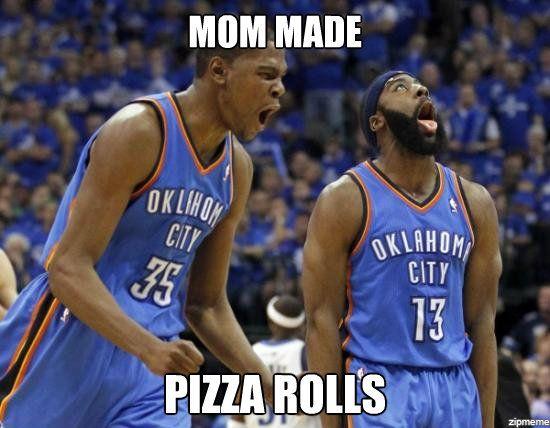 memesNBA: Pizza Rolls