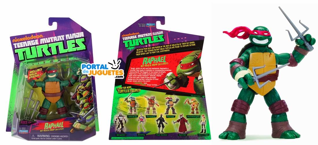 figura raphael tortuga ninja playmates toys