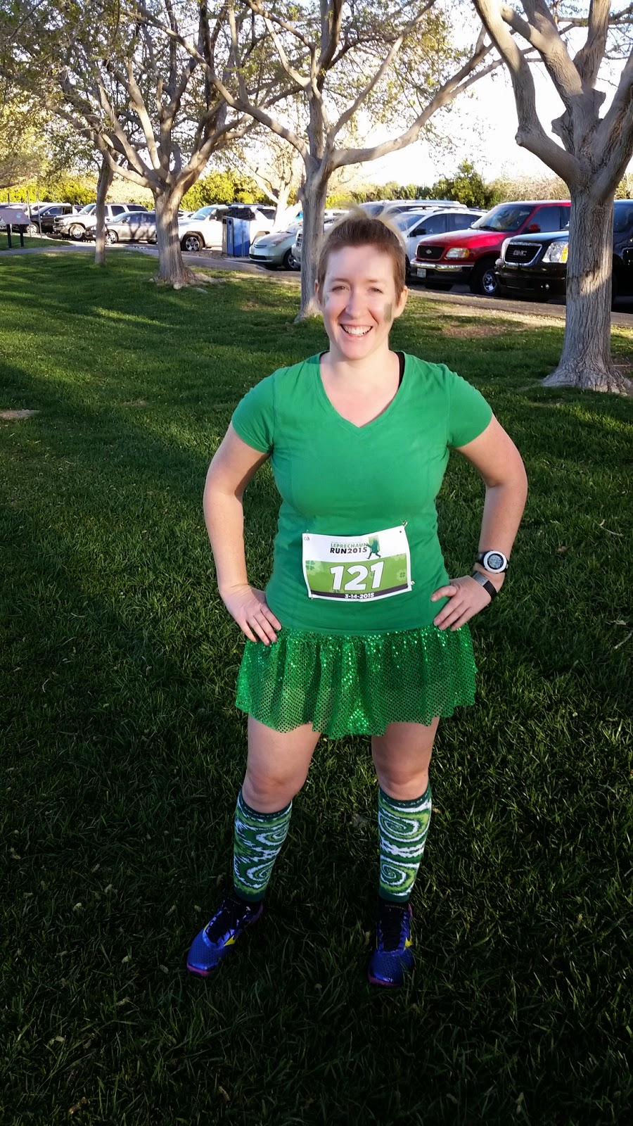 Pre-race at the Catch the Leprechaun 5k