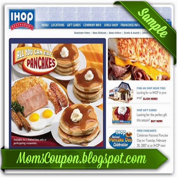 IHOP has free Kid meals but you have to contact the restaurant directly because it is not the same at each one just because they have a franchise name.