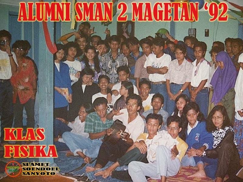 Alumni SMAN 2 Magetan '92 Fisika