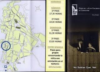 Tríptico actualizado del Museo de la Casa Chacinera de Candelario Salamanca.
