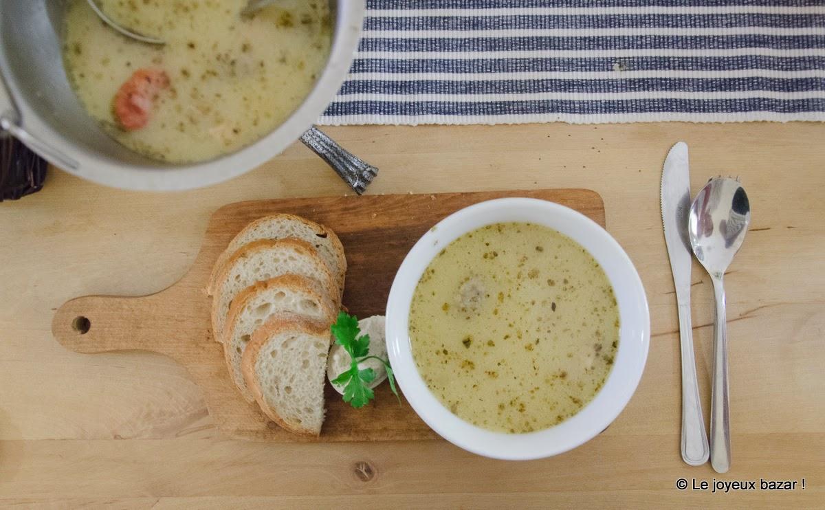 Poznan - soupe polonaise