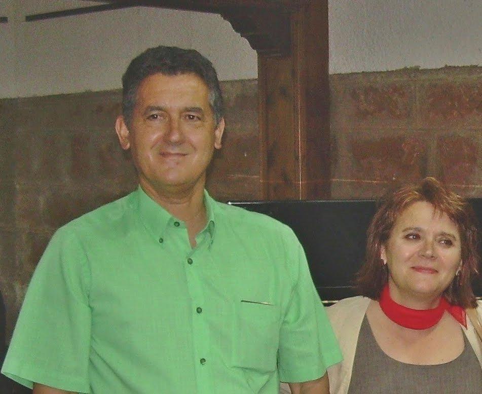 Manuel Sampedro Frutos y Marta Antonia