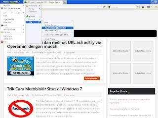 Cara Merubah Tampilan Tombol Toolbar Mozilla Firefox