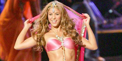 shakira belly dance