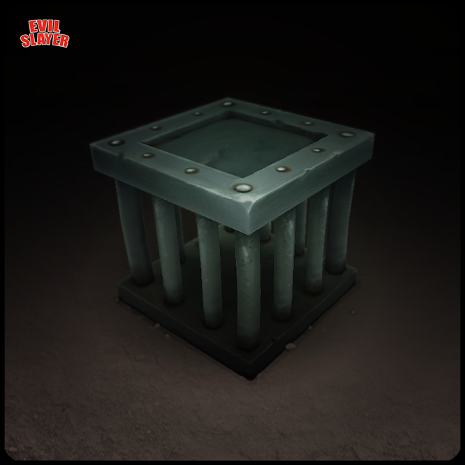 It's cage for monsters, it's not strong, but you could to upgrade it!