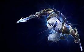 shockblade zed skin league of legends lol champion hd wallpaper