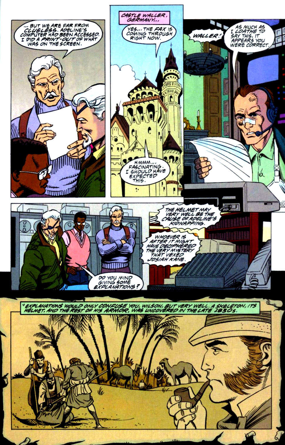 Deathstroke (1991) Issue #27 #32 - English 23