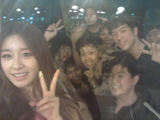 Foto Jiyeon twitter at bus