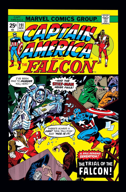 Captain America (1968) Issue #191 #105 - English 1