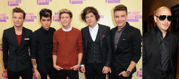 one+direction+pitbull+music+2012+britney+star «The X Factor USA»: Revelados convidados musicais da última noite