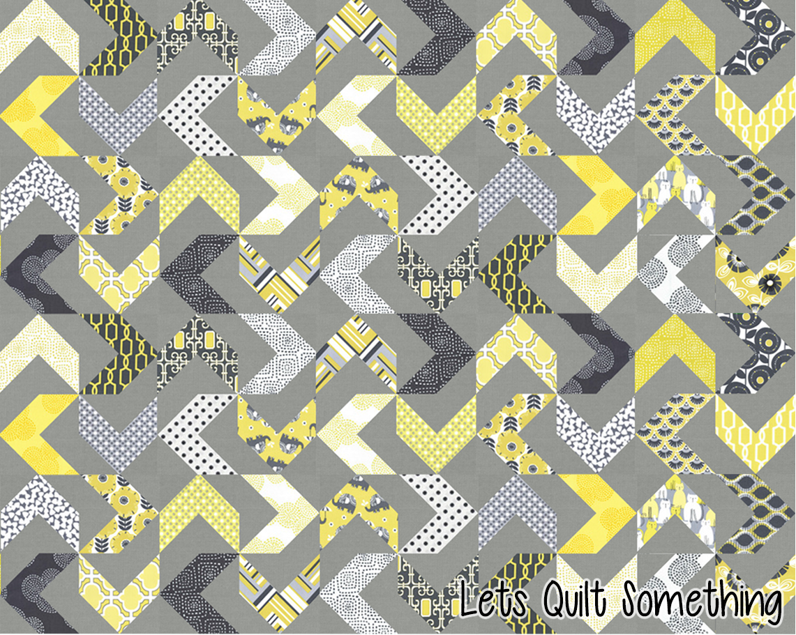 Lets Quilt Something Which Way To Go Free Quilt Pattern Using