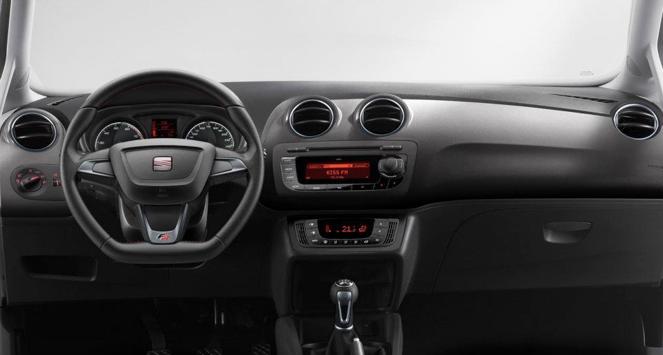 Unveiled 2012 SEAT Ibiza restyling