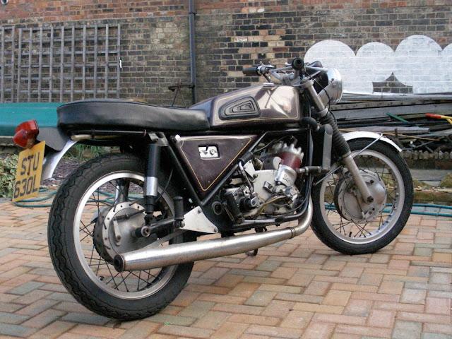 Silk-Scott Special Motorcycle