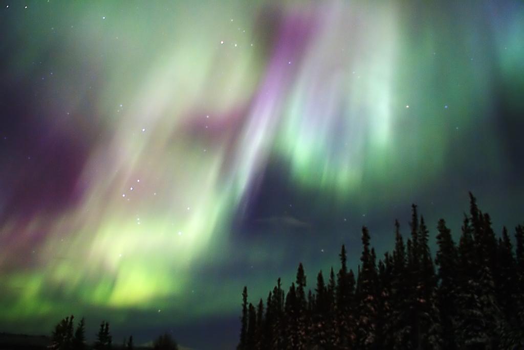 Light And Sound Ariane Aurora Borealis And Aurora Australis