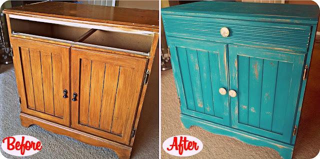 Cabinet Transformation: from Trash to Treasure DIY on BinkysNest.com