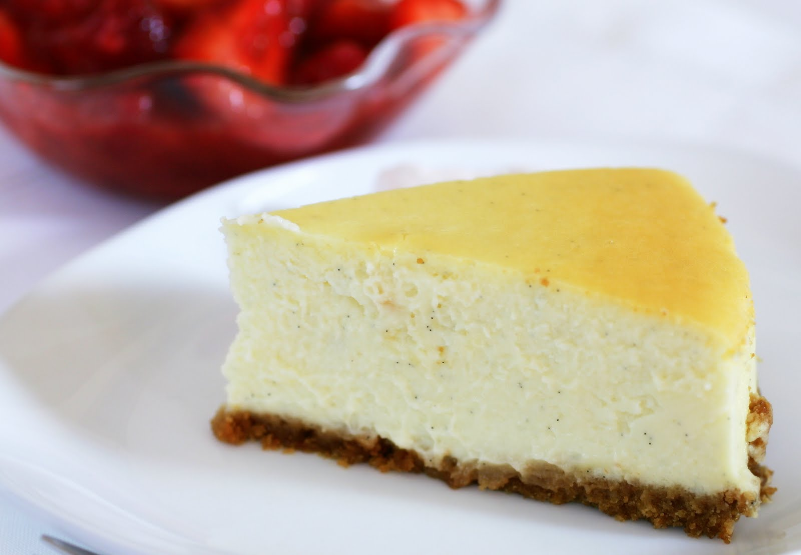 Tish Boyle Sweet Dreams: Classic Vanilla Cheesecake with Red Berry ...