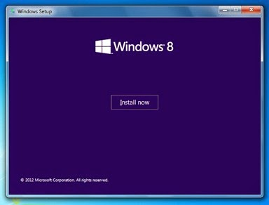 Pengalaman Instal Windows 8 Di Laptop HP Pavilion DV42116TX